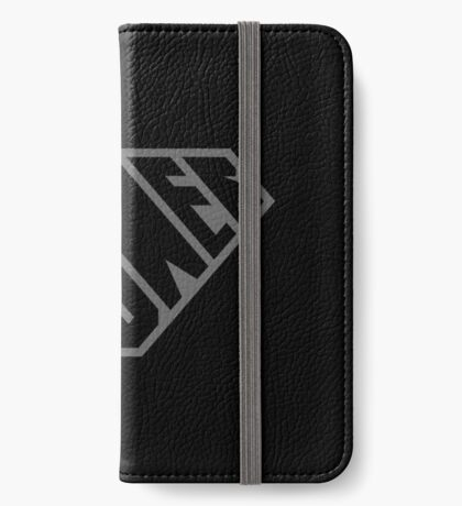 SuperEmpowered (Black on Black) iPhone Wallet