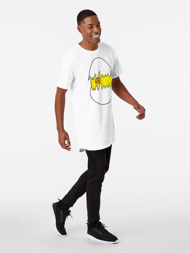 Vista alternativa de Camiseta larga Baby Bird