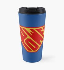 SuperEmpowered (Red and Gold) Travel Mug