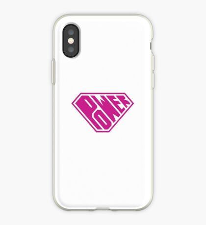 SuperEmpowered (Pink) iPhone Case