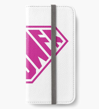 SuperEmpowered (Pink) iPhone Wallet