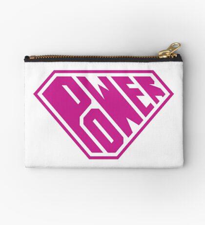 SuperEmpowered (Pink) Zipper Pouch