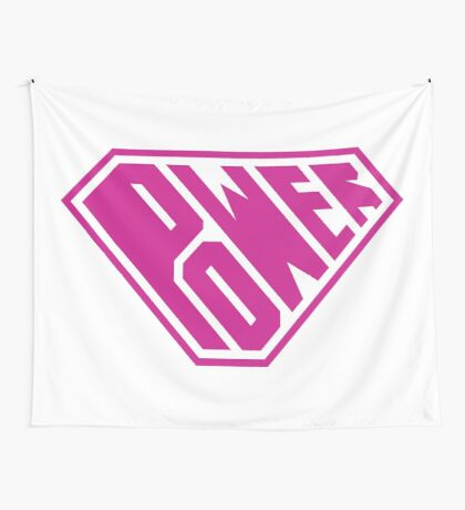 SuperEmpowered (Pink) Wall Tapestry