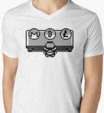 Pokemon Choose Your Coin: Bitcoin, Litecoin or Monero Men's V-Neck T-Shirt