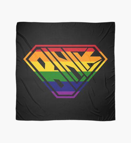 Black SuperEmpowered (Rainbow) Scarf