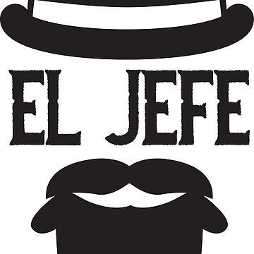 El Jefe-Black by AlienatedOpus