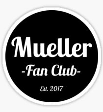 Robert Mueller Fanclub Sticker