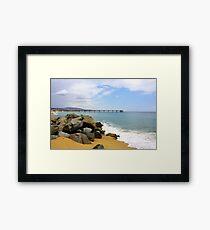 Las Playas de Espana Framed Print