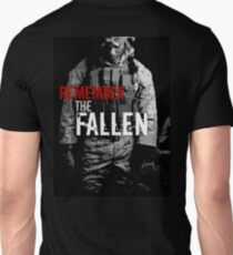 Remember the Fallen (RED) Unisex T-Shirt