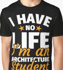 Architectural student architecture student gift Graphic T-Shirt