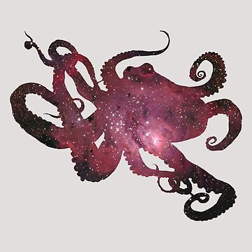 Octopus in Space by Stylographer