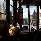 Dreaming in the tram by Arnaud Lebret