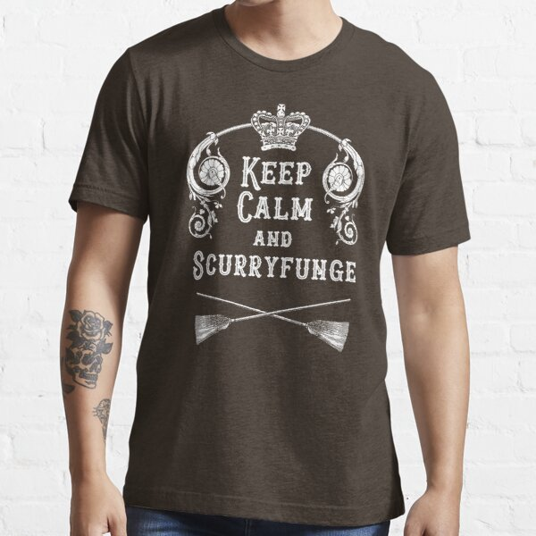 Keep Calm and Scurryfunge Essential T-Shirt