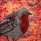 Robin Red-Breast by Lynnette Shelley