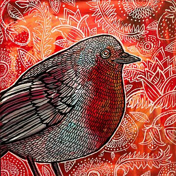 Robin Red-Breast by LynnetteShelley