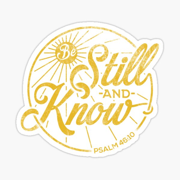 Religious Stickers for Christian Women and Men, Faith Inspired Sticker Sticker