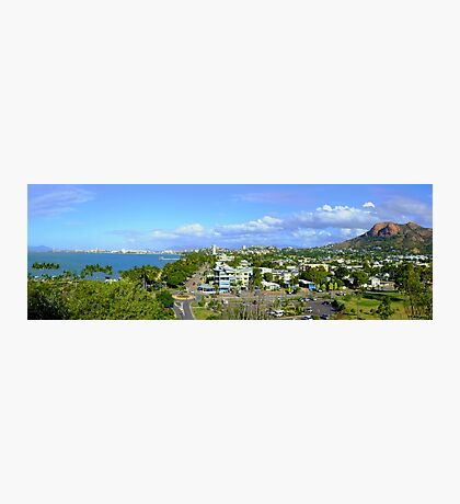 The Strand and Castle Hill -Townsville Photographic Print