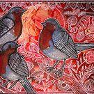 Three Robins by Lynnette Shelley