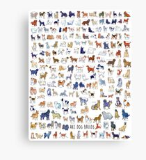 Every AKC Dog Breed Canvas Print