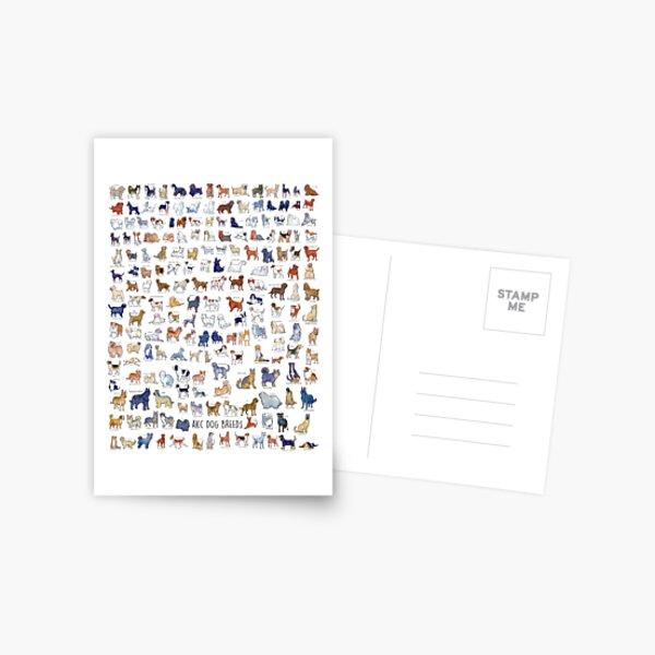 Every AKC Dog Breed Postcard
