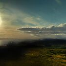 Panorama Over the Clyde from Law Hill, West Kilbride by George Crawford