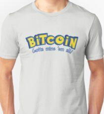 Bitcoin Pokemon Logo Unisex T-Shirt