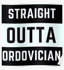 Straight Outta Ordovician Poster