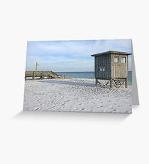 Navarre Beach Greeting Card