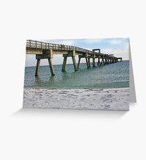 Navarre Pier Greeting Card