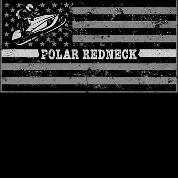 Snowmobile Riding Gear Shirt Polar Redneck by shoppzee