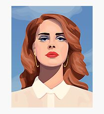 Live to Die Lana Del Rey  Photographic Print