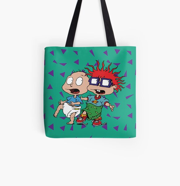 Sneaky Rugrats All Over Print Tote Bag