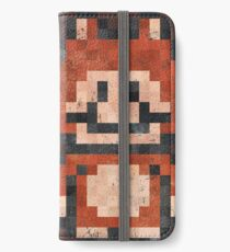 Super Mario Raccoon Vintage Pixels iPhone Wallet/Case/Skin