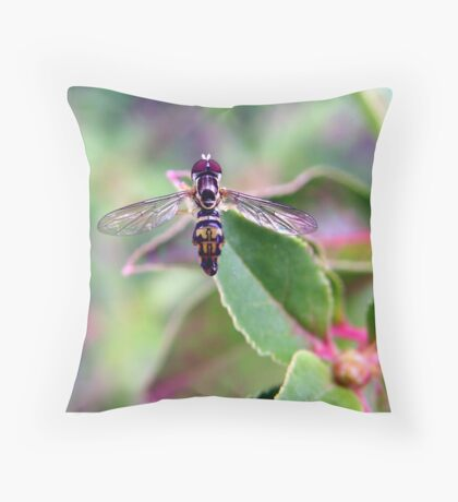 The Perfect Poser Throw Pillow