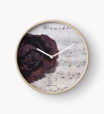 Cracklin' Rose Clock