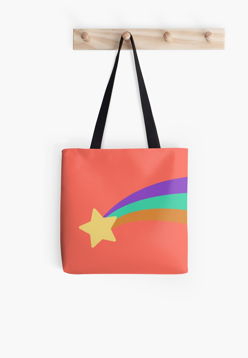 Mabel Shooting Star Sweater Tote Bags By Bushinoodle Redbubble
