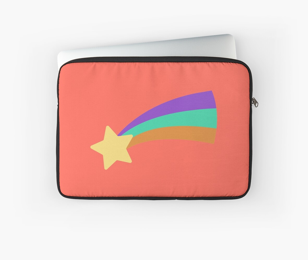 Mabel Shooting Star Sweater Laptop Sleeves By Bushinoodle Redbubble