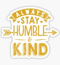 Humble and Kind Stickers for Christians | Religious Stickers with Bible Scripture Verse Sayings Sticker
