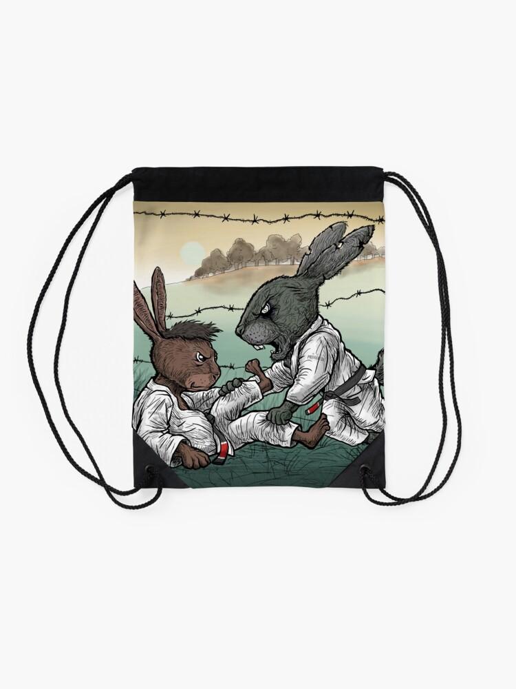 Alternate view of Easter Bunnies 2018 Drawstring Bag