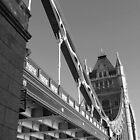 Tower Bridge in sepia by Seller2018KF