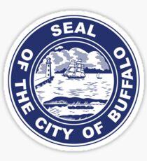 Seal of Buffalo, New York  Sticker