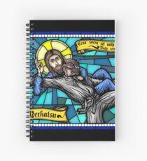Jesus vs Satan Spiral Notebook
