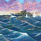 H.M.A.S. Australia II - Western Pacific 1944 by Cary McAulay