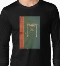 Antikes Poesie-Buchumschlag Langarmshirt