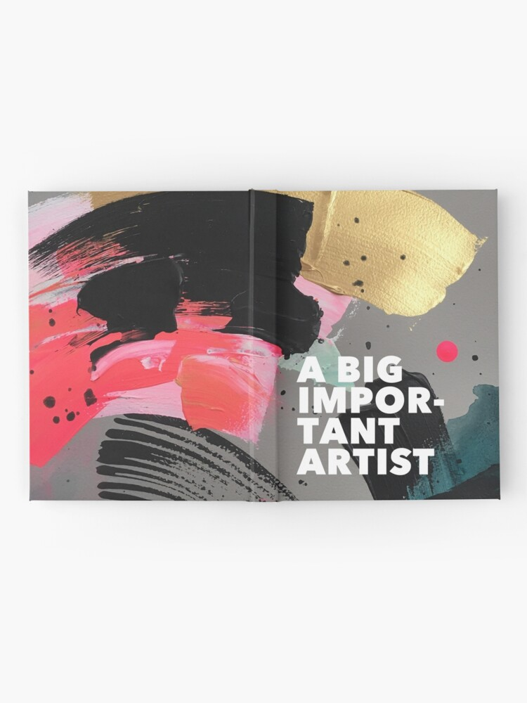 Alternate view of Painted Journal Hardcover Journal