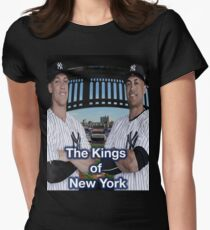 Aaron Judge and Giancarlo Stanton Women's Fitted T-Shirt