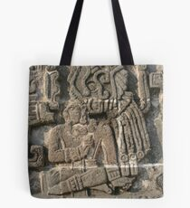 Xochicalco Sun Temple - High Relief Image Tote Bag