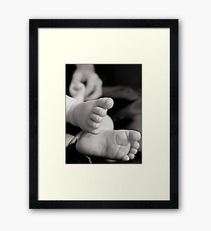 Best Beginnings Framed Print
