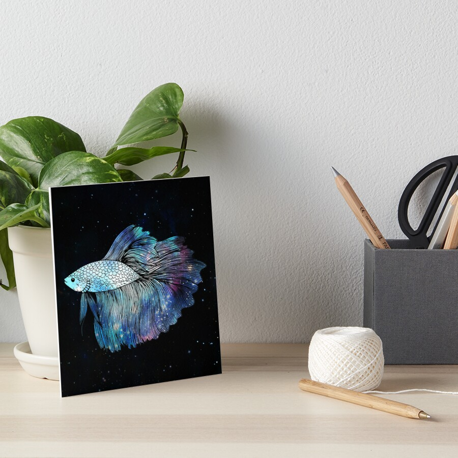 Betta Fish Galaxy by julieerindesign