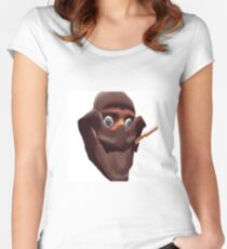 Team Fortress 2 Spy Women's Fitted Scoop T-Shirt